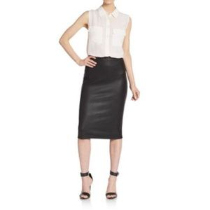 Saks Fifth Avenue Skirts - Saks Fifth Ave 5/48 Snakeskin Print Pencil Skirt